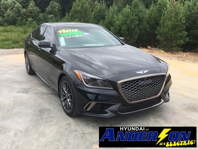 New 2018 Genesis G80 3 3t Sport 4d Sedan In Anderson 86005
